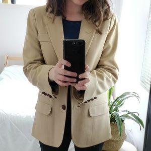 Vintage beige blazer